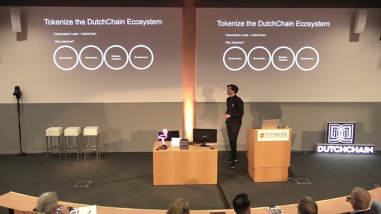 How and why to tokenize your company - Abe Scholte, DutchChain